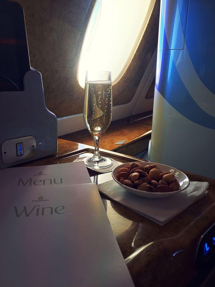 The Wine Junkies Emirates Flight 1