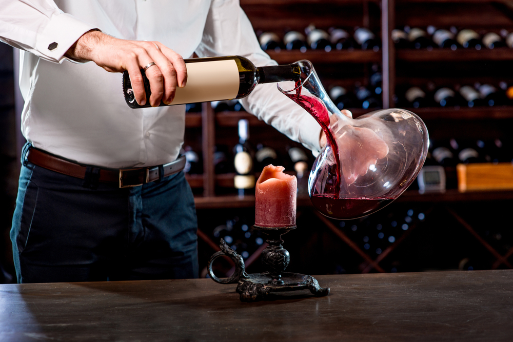 Is Decanting Wine Only Done to Impress Your Dinner Guests?