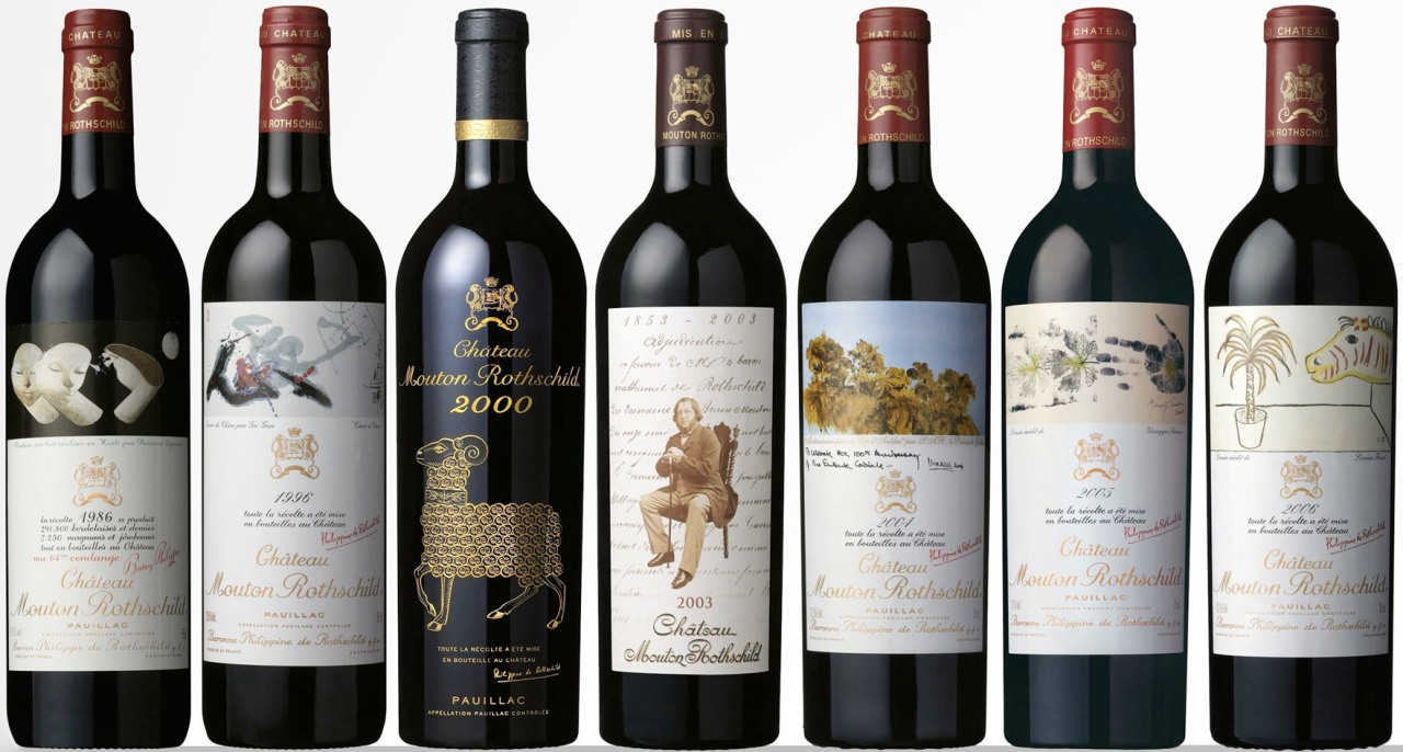 The 10 Most Beautiful WineLabels