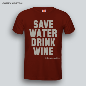 The Wine Junkies Tshirt